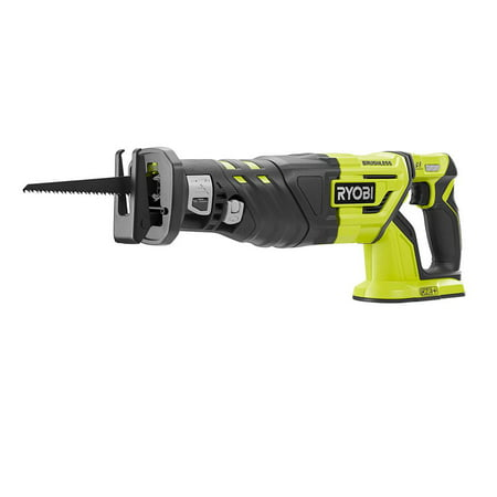 Ryobi 18-Volt ONE+ Brushless Reciprocating Saw (Tool Only) with LED Light For Increased Visibility (New Open