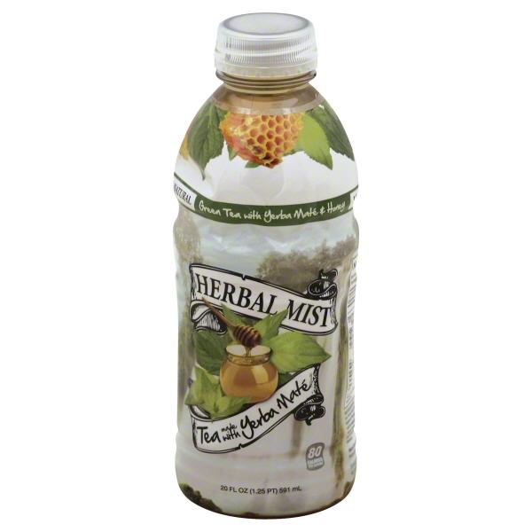 Herbal Mist Tea W/yerba Mate Green Tea