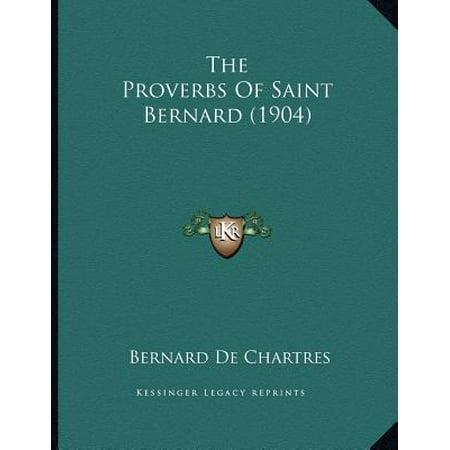 The Proverbs of Saint Bernard (1904)