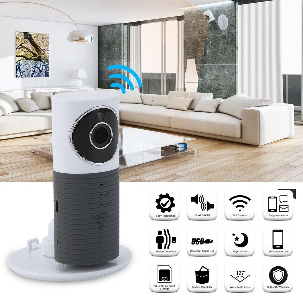 Wifi Video Baby Monitor 2 Way Speaker 120 Degree 960P Audio Network Webcam