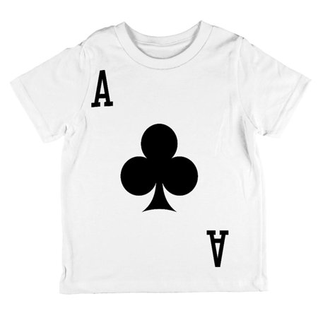 Halloween Ace of Clubs Card Soldier Costume All Over Toddler T Shirt