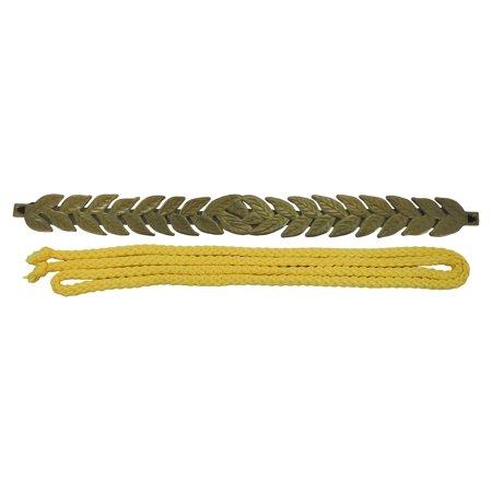 Roman Laurel Leaf Headband And Yellow Roman Rope Belt Toga Costume Accessories](Roman Headband)