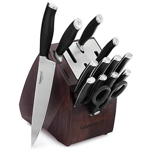Calphalon Contemporary Self-Sharpening 14-Piece Cutlery Knife Block Set with SharpIN Technology