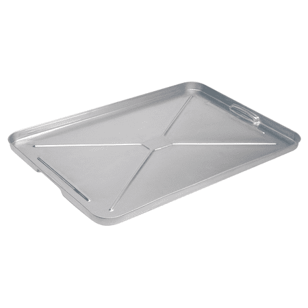 "Drip Pan Galv Sheet Metal 17-1/2W x 25-3/4L x 1"" High"