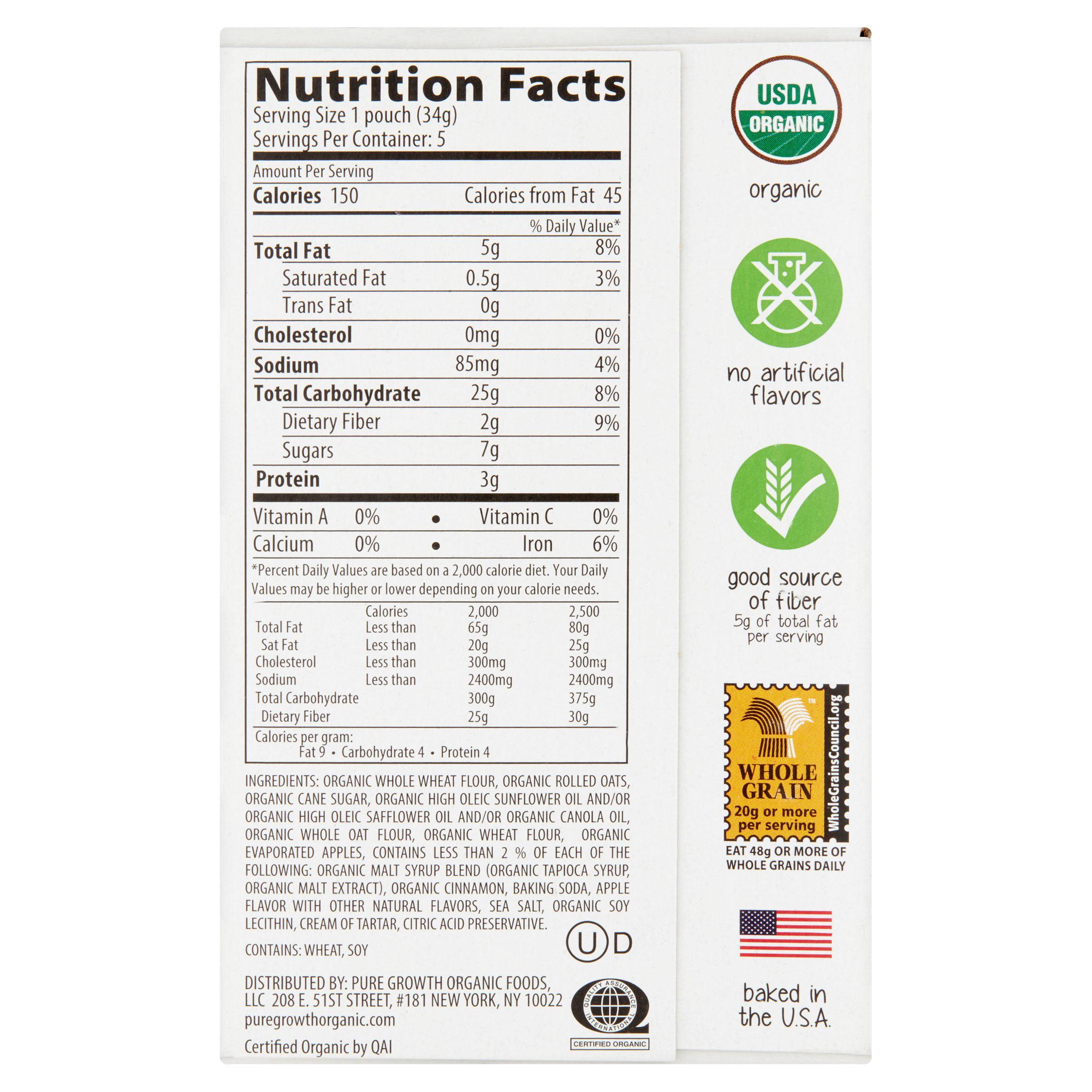 Pure growth organic foods llc