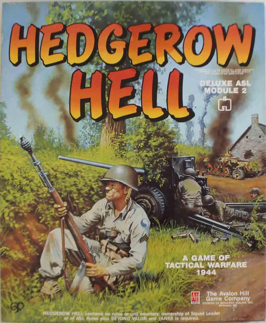 Hedgerow Hell Used by Avalon Hill