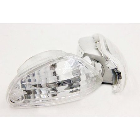 HTT-MOTOR Turn Signals For 2006-2009 Suzuki Gsx-R Gsxr 600 750 2005-2008 Gsxr1000 Clear