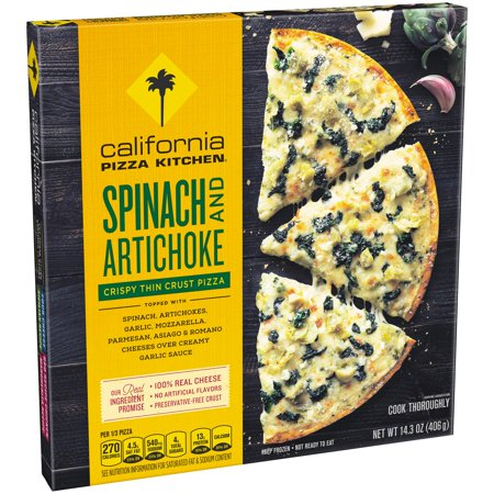 California Pizza Kitchen Spinach Artichoke Pizza