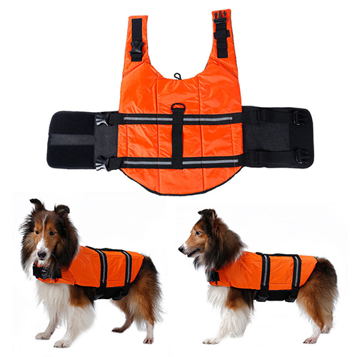 Bluelans Pet Aquatic Reflective Preserver Float Vest Dog ...