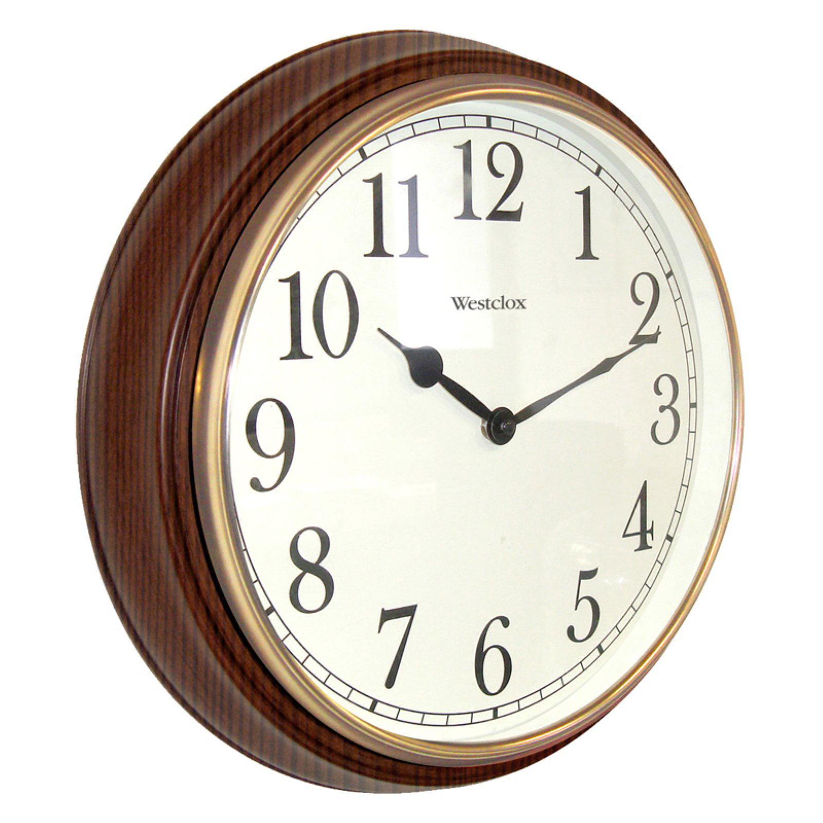 Westclox Clocks 15.5'' Round Wall Clock
