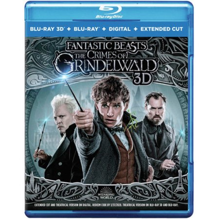 Fantastic Beasts: The Crimes of Grindelwald (3D Blu-ray + Blu-ray +