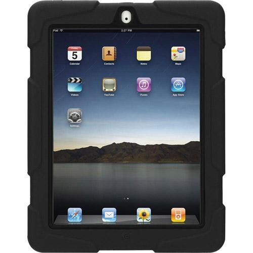 Griffin Survivor Case for iPad 2, 3, 4 Black, Black
