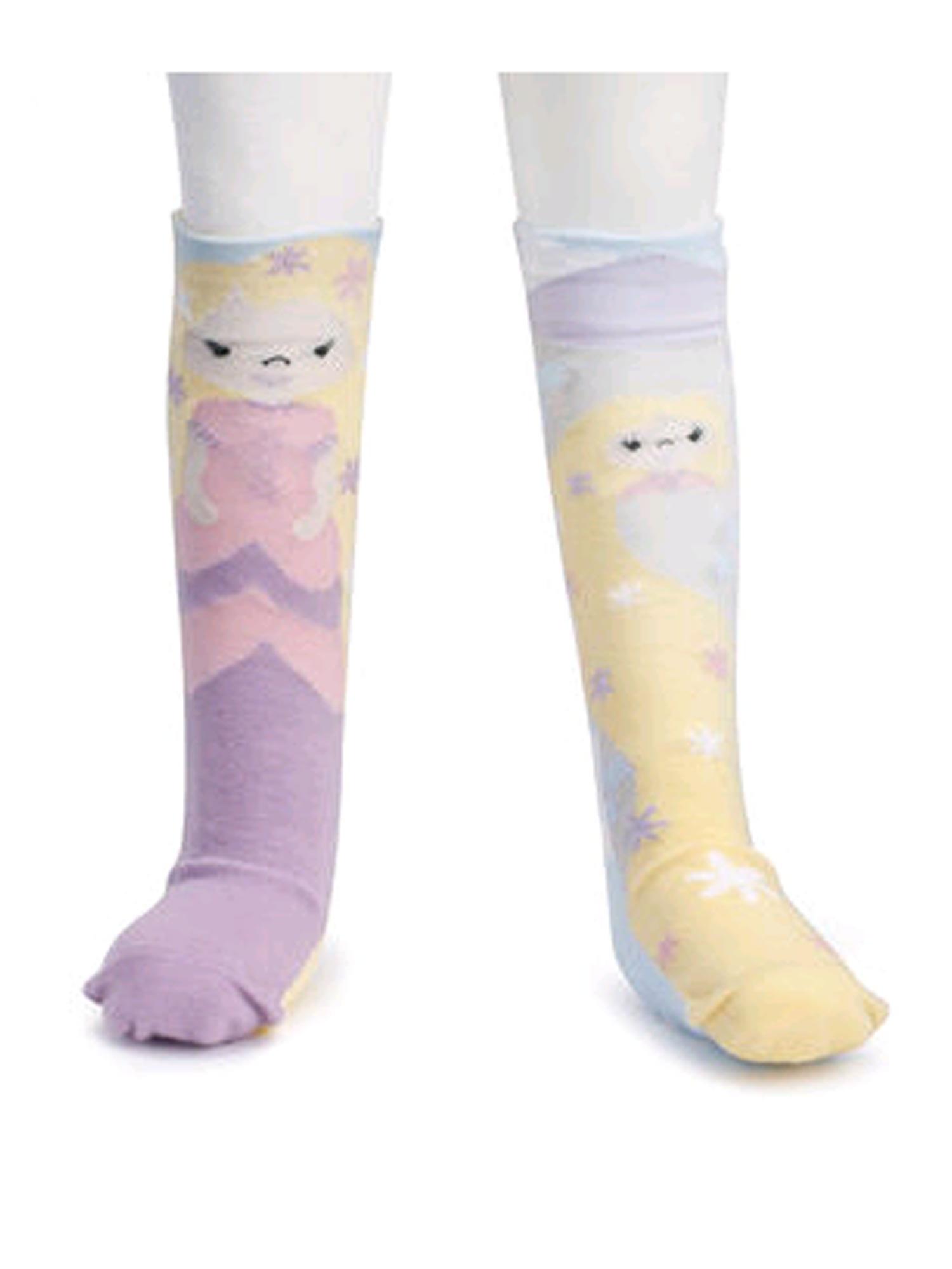 Novelty Socks RAPUNZEL KNEE STORY TIME SOCKS Toddler Non Skid Soles 5004700486