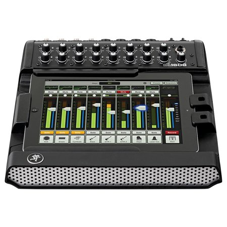 - Mackie DL1608L Lightning 16-Channel Digital Live Sound Mixer with iPad Control