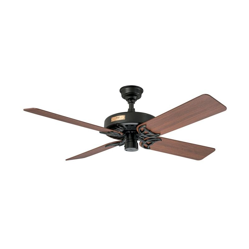"Hunter Original 52"" Energy Star Rated Indoor   Outdoor Ceiling Fan 5 Reversibl by Hunter"