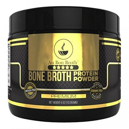 4oz Genuine Grass Fed Organic Bone Broth Powder Premium (Organic Bone Expander)