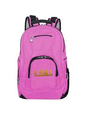 NCAA Louisiana Tigers Pink Premium Laptop Backpack