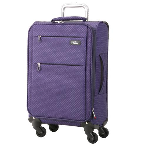 Skyway Luggage Skyway FL-Air Royal Paisley 20-inch Lighweight Expandable Carry On Spinner Upright Suitcase