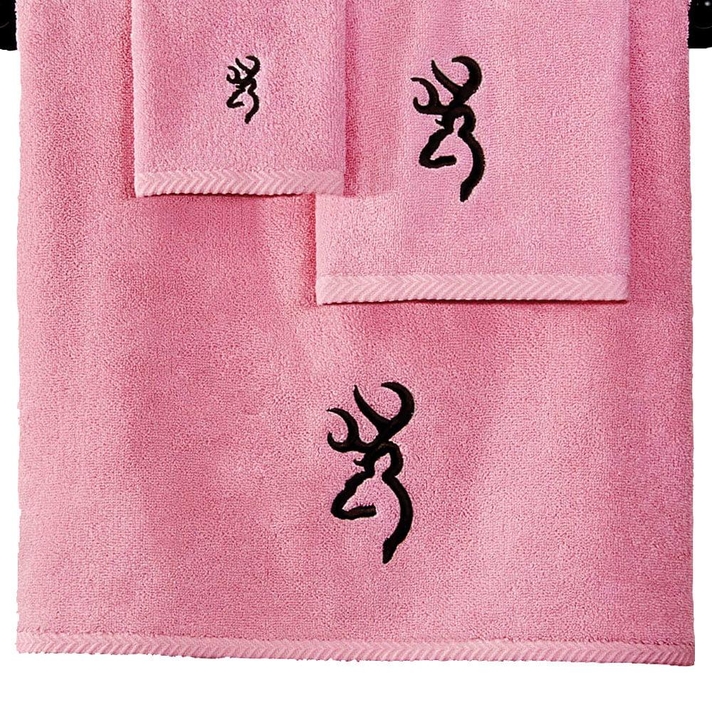Browning Buckmark Pink Bath Towel Walmart