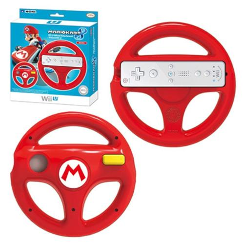 Hori Mario Racing Wheel Mario Kart 8 Controller For Nintendo Wii U