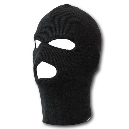- Black Three Holed Ski Mask