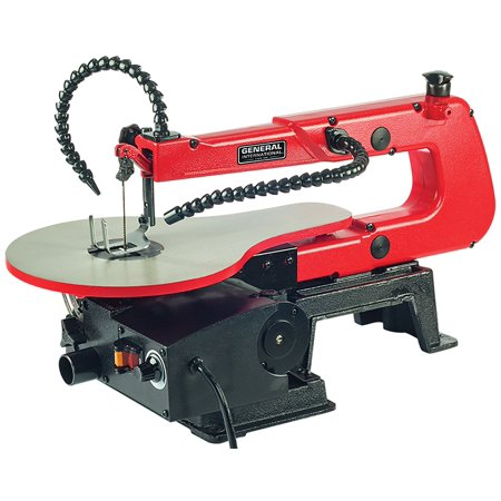 General International Bt8007 16-Inch Scroll Saw With Led Light