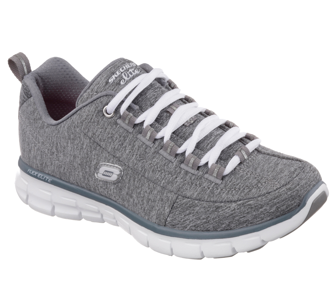 Skechers 11863GRY Women's SYNERGY SPOT ON Training Shoes by Skechers