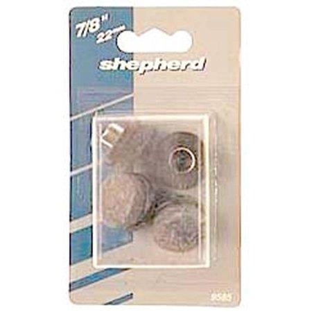 Shepherd 9934 8 Pack 1″ Nail On Felt Floor Protectors