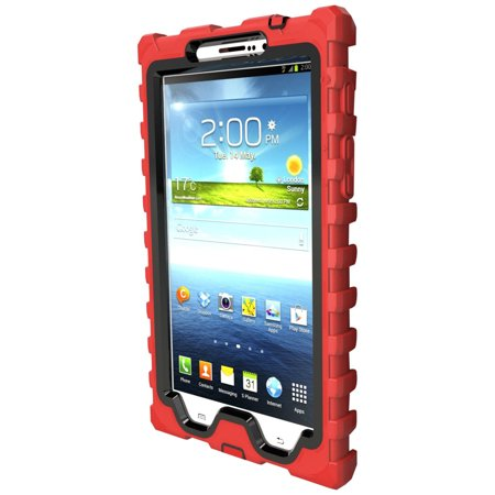 the latest 3263e 43e7b Samsung Galaxy Tab 3 7 inch (2013) Red Shock Drop Hard Candy Cases Silicone  Rugg