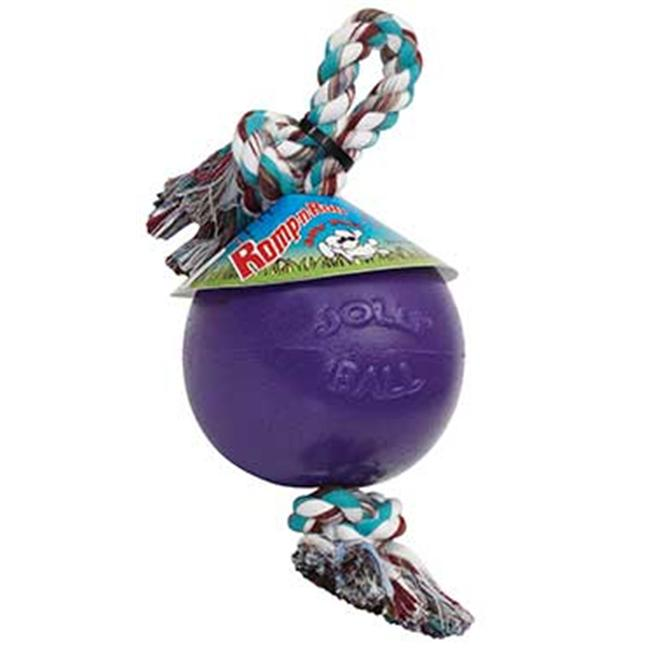Horsemen S Pride Romp-n-roll Ball Purple 8 Inch - 606 PU