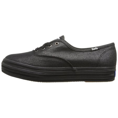 257c46fb942 Keds - Keds Womens Triple Metallic Low Top Lace Up Fashion Sneakers -  Walmart.com
