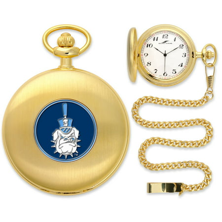 Citadel Bulldogs Ncaa Gold Pocket Watch
