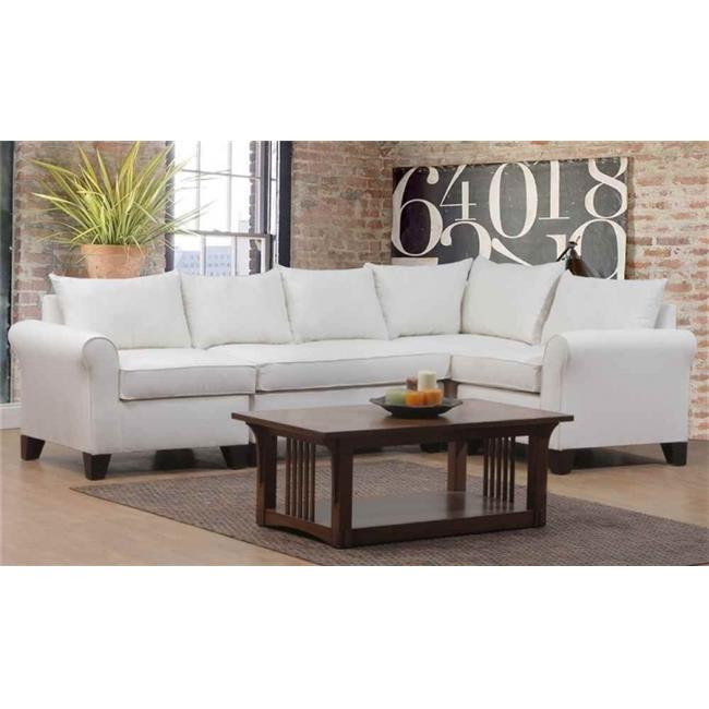 Carolina Accents Belle Meade 4-piece- KHI Belle Meade Sectional Khaki by