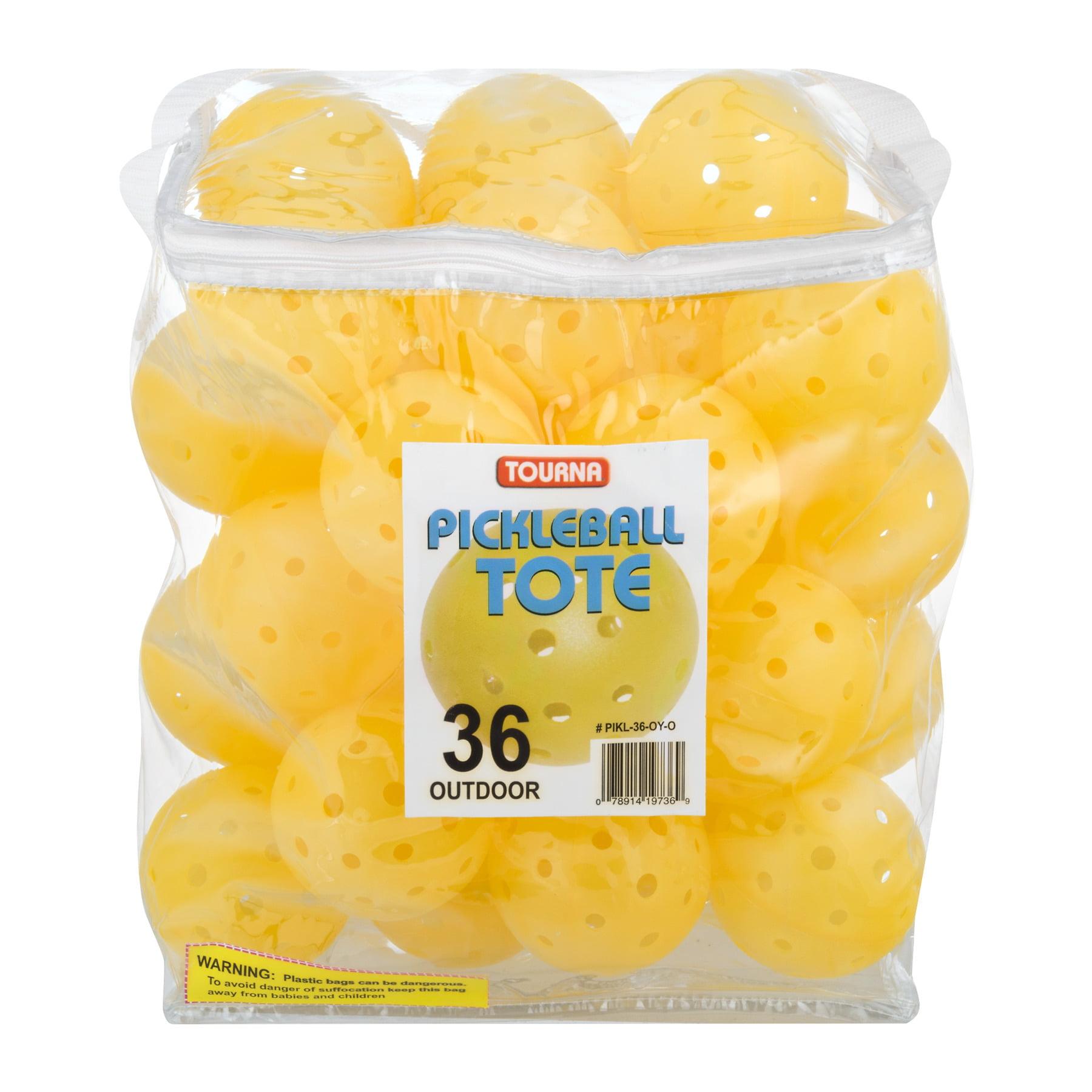 Tourna Pickleball Tote Yellow, 36.0 CT