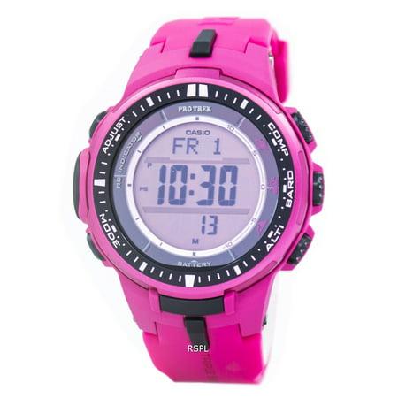 Protrek Tough-Solar PRW3000-4B Small Size LTD Triple Sensor Wristwatch