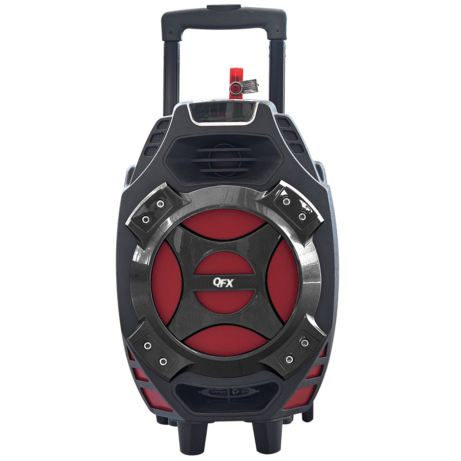 QFX Portable Tailgate BT Speaker - Red