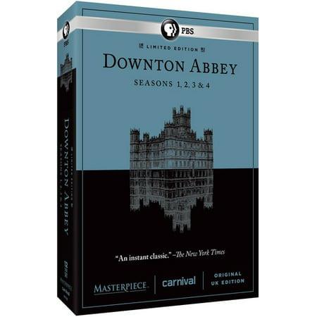 Masterpiece: Downton Abbey Seasons 1 & 2 & 3 & 4 (DVD) - Downton Abbey Grantham