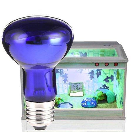 Fluorescent Reptile Heat Basking Lamp Light Bulb for Vivarium Terrarium UV Tube As shown