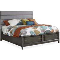 Magnussen Proximity Heights Contemporary Upholstered Storage Platform Bed
