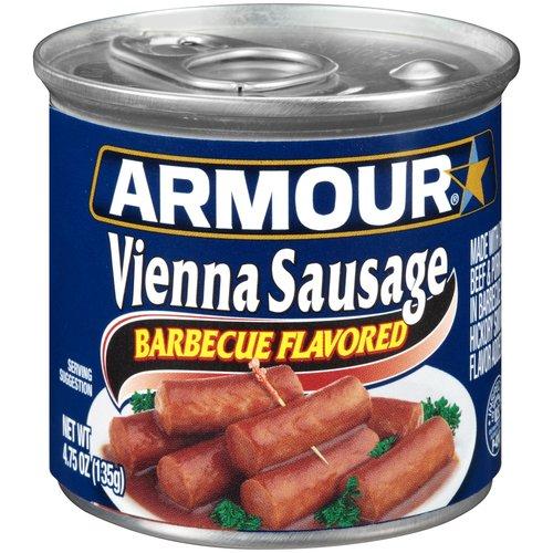 Armour Barbecue Flavored Vienna Sausage, 4.75 oz