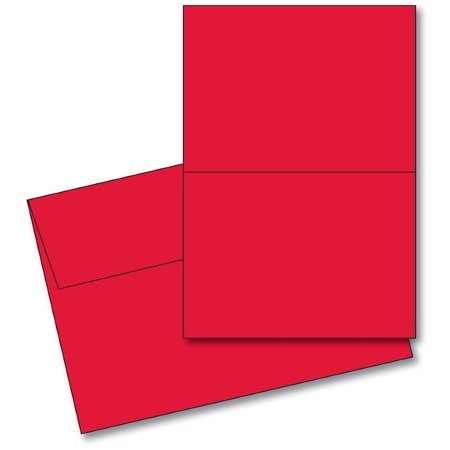 Valentines day 5 x 7 blank red greeting card setsscored25 cards valentines day 5 x 7 blank red greeting card setsscored25 cards m4hsunfo