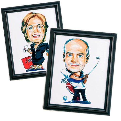 Personalized Caricature Print