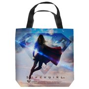 Supergirl Endless Sky Tote Bag White 16X16