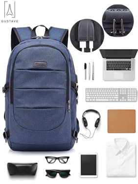 0c8ee9c46 Product Image GustaveDesign Laptop Backpack Water Resistant Anti-Theft  College Backpack With USB Chargin Port and Lock