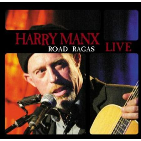 Harry Manx   Road Ragas Harry Manx Live  Cd