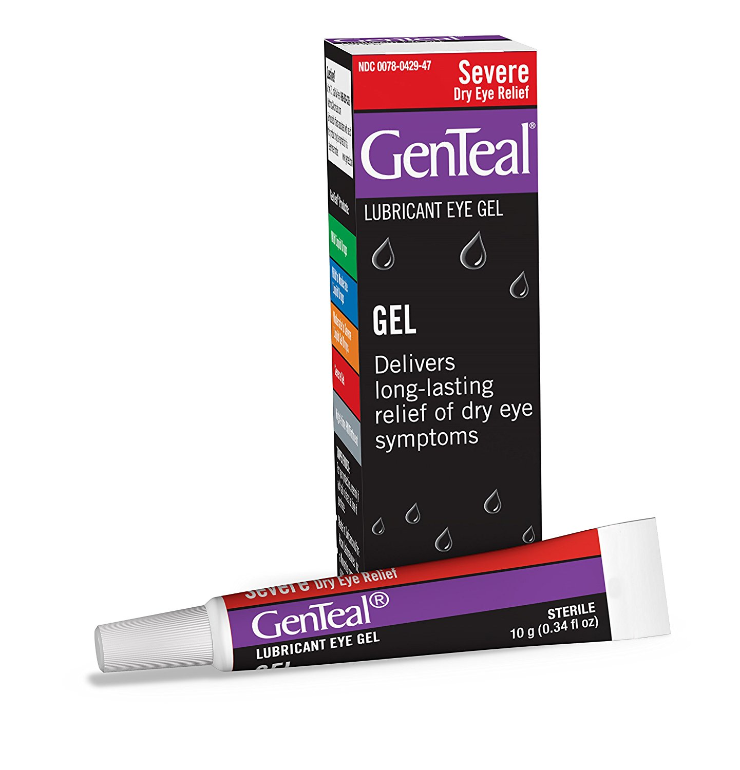 Genteal Gel, 0.34 Fl OZ, GenTeal 05 Dry Eye 034 Moderate 15ml Tubes Ounce Pack Relief Fl g OZ Gel Twin Lubricant Genteal Extra Drops Value to Severe 20 By Alcon