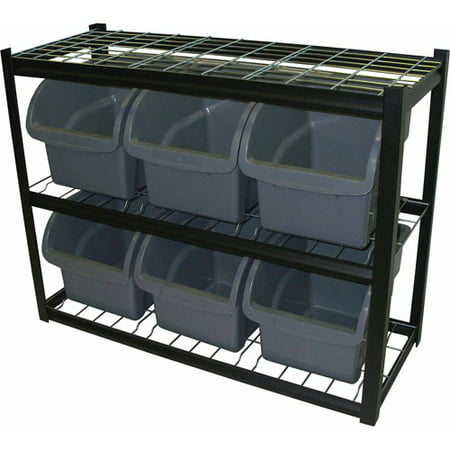 Edsal Steel Bin Shelving Unit, IBU421633 (Shelving Bin Unit)