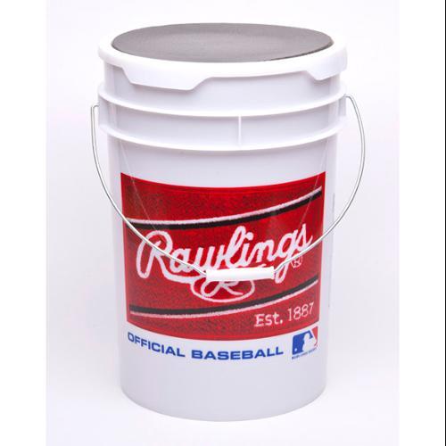 Rawlings Empty Practice Bucket,  holds 3 dozen balls (not in