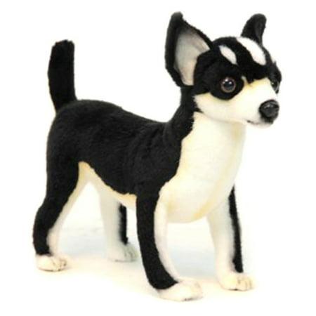 Hansa Black And White Chihuahua Plush Toy Walmart Com