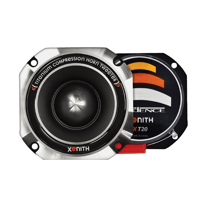 "cadence 2"" titanium compression horn tweeter"